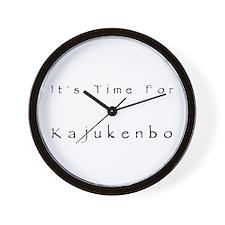 Kajukenbo Wall Clock