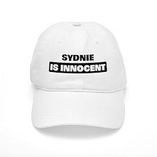 SYDNIE is innocent Baseball Cap