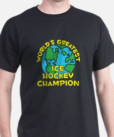 World's Greatest Ice H.. (H) T-Shirt