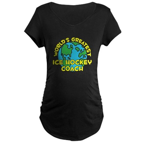 World's Greatest Ice H.. (H) Maternity Dark T-Shir