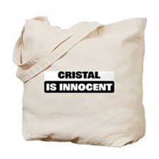 CRISTAL is innocent Tote Bag