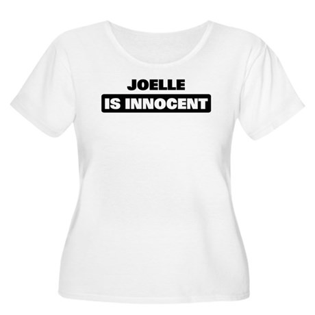 JOELLE is innocent Women's Plus Size Scoop Neck T-