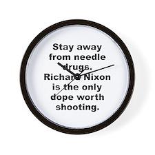 Unique Richard nixon Wall Clock