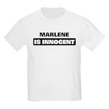 MARLENE is innocent T-Shirt