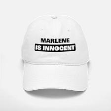 MARLENE is innocent Baseball Baseball Cap