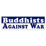 Buddhists Against War bumper sticker