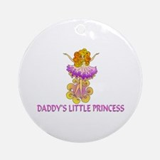 Daddy's Little Princess Ornament (Round)