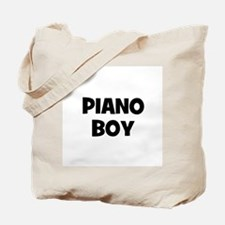 Piano boy Tote Bag