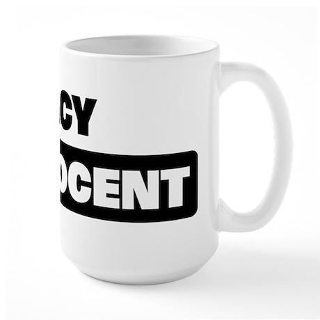 MACY is innocent Large Mug