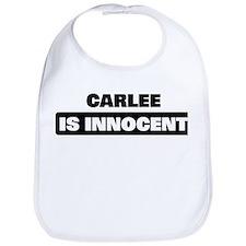 CARLEE is innocent Bib