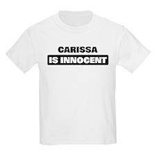 CARISSA is innocent T-Shirt