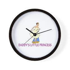 Daddy's Little Princess Wall Clock
