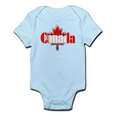 Canada Flag Infant Bodysuit