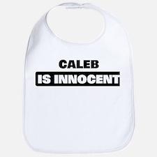 CALEB is innocent Bib