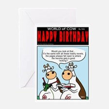 Rude Fiction Greeting Card