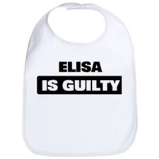 ELISA is guilty Bib