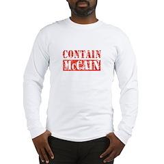 CONTAIN MCCAIN Long Sleeve T-Shirt