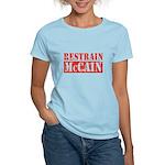 RESTRAIN MCCAIN Women's Light T-Shirt