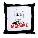 McLame Throw Pillow