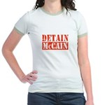 DETAIN MCCAIN Jr. Ringer T-Shirt