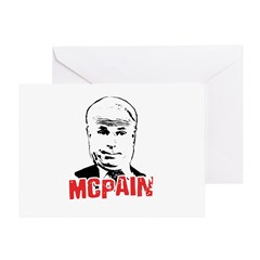 McPain Greeting Card