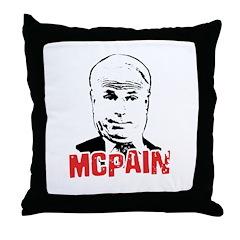 McPain Throw Pillow