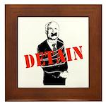 Detain McCain Framed Tile