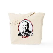 McCan't 2008 Tote Bag