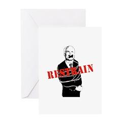 Restrain McCain Greeting Card
