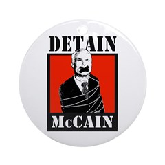 DETAIN MCCAIN Ornament (Round)