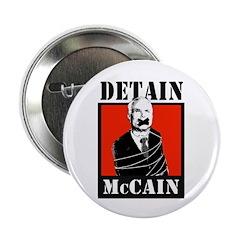 """DETAIN MCCAIN 2.25"""" Button (100 pack)"""