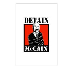 DETAIN MCCAIN Postcards (Package of 8)