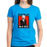 RESTRAIN MCCAIN Women's Dark T-Shirt