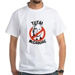 Anti-McCain: McCainiac White T-Shirt
