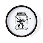 Contain John McCain (in a jar) Wall Clock