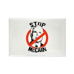 STOP MCCAIN Rectangle Magnet