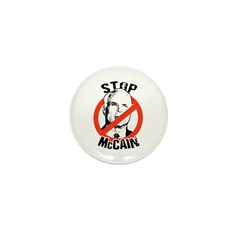STOP MCCAIN Mini Button (100 pack)