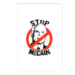 STOP MCCAIN Postcards (Package of 8)