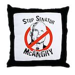 Anti-McCain: Stop Senator McAngry Throw Pillow