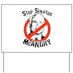 Anti-McCain: Stop Senator McAngry Yard Sign
