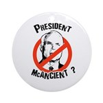 President McAncient ? Ornament (Round)