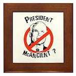 President McAncient ? Framed Tile