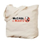 McCain is McNuts Tote Bag