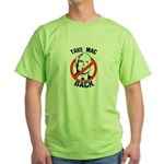Anti-McCain: Take Mac Back Green T-Shirt