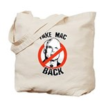 Anti-McCain: Take Mac Back Tote Bag