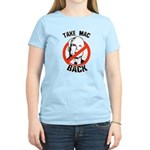 Anti-McCain: Take Mac Back Women's Light T-Shirt