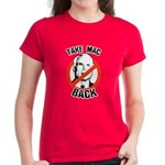 Anti-McCain: Take Mac Back Women's Dark T-Shirt