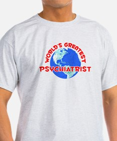 World's Greatest Psych.. (F) T-Shirt
