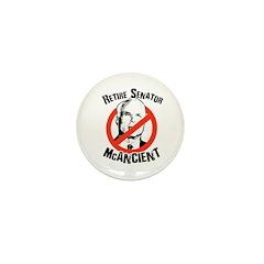 Retire Senator McAncient Mini Button (10 pack)