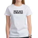 DETAIN MCCAIN Women's T-Shirt